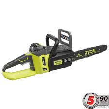 Home Depot Deal Of The Day by Ryobi 14 In 40 Volt Brushless Lithium Ion Cordless Chainsaw 1 5