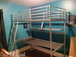 Metal Loft Bed With Desk Assembly Instructions Ikea Svarta Daybed Assembly Ikea Svarta Daybed White Ikea Svarta