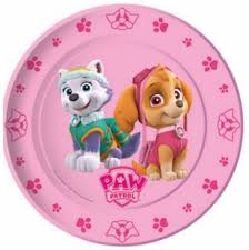 party supplies spain skye paw patrol plates partyweb es