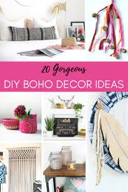 20 amazing examples of colorful diy boho decor for your gypsy look