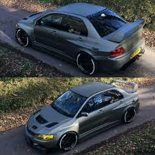 mitsubishi mirage evo functional widebody evo 9 1 1 street and track cars rides