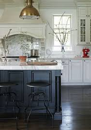 white kitchen with black island twenty gorgeous black white kitchens to inspire