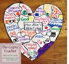 Heart Map February 2016 The Gypsy Teacher