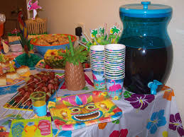 Tropical Themed Party Decorations - interior design cool tropical themed party decorations
