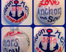 Hand Painted Love Anchors The - love anchors soul etsy