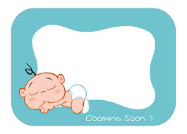 baby shower frame by ecemelmas on deviantart