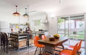 retro kitchen islands retro kitchens l shaped brown cherry kitchen cabinet warm paint