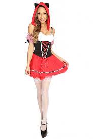 Wolf Halloween Costume Girls Pc Red Wolf Costume