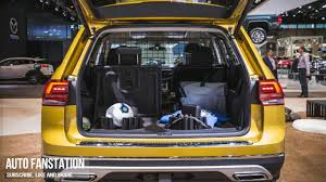 volkswagen atlas trunk 2018 volkswagen atlas weekend edition 2017 chicago auto show