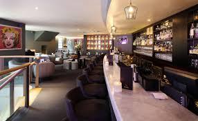 retro interiors inside hush mayfair restaurant u0026 bar