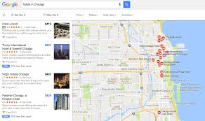 Chicago Hotels Map by Google Flights Is Making Travel Planning Less Stressful