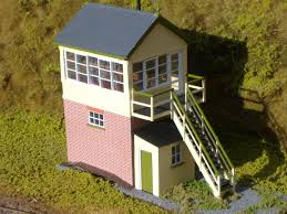 signal shed writhlington colliery signal box g r penzer o gauge model