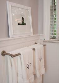 Wainscoting Over Tile Just A Touch Of Gray Master Bathroom Reveal