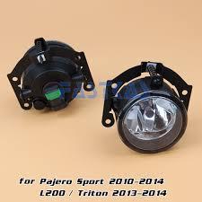 triton mitsubishi 2010 fog light for mitsubishi pajero sport 2010 2014 l200 triton 2013