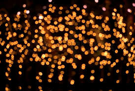 defocused orange lights on black stock photo colourbox