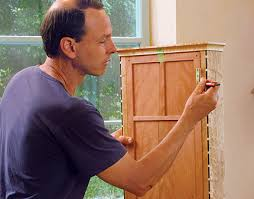 how to install hinges on corner cabinets how to fit and install hinges finewoodworking