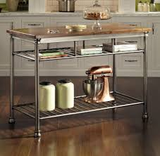 imposing orleans kitchen island butcher of kitchenaid satin copper
