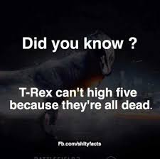 High Five Meme - dopl3r com memes did you know t rex cant high five because
