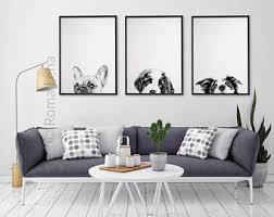 wall decor at home dog wall art etsy