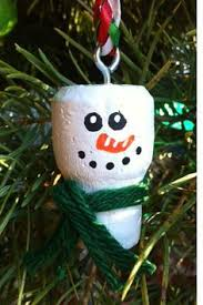 set of 4 snowmen champagne cork ornaments by lollipopday on etsy
