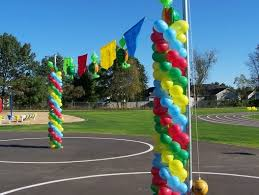81 best balloon decor images on pinterest balloon decorations