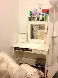 Ikea Storage Boxes Diy Diy Makeup Desk Ikea Best Home Furniture Decoration