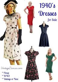 1940s dresses 10 websites with 1940s dresses for sale