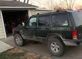 jeep xj stock bumper how to jeep wranger tj mirrors on a jeep cherokee xj dan nix
