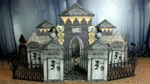 miniature halloween village artfully musing halloween haunted village event part 3