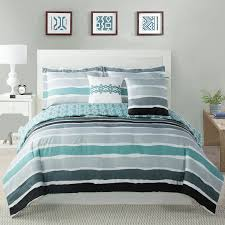 Blue Striped Comforter Set Studio17 Tie Dye Striped Comforter Set U0026 Reviews Wayfair