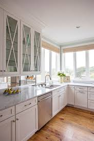 light blue kitchen walls cabinets kitchen pass through design with light blue walls and white