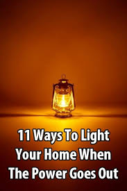 light that comes on when power goes out 11 ways to light your home when the power goes out flashlight
