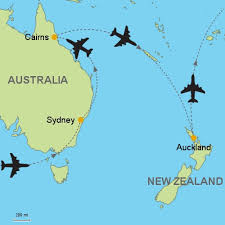 auckland australia map sydney cairns auckland customizable itinerary from asia