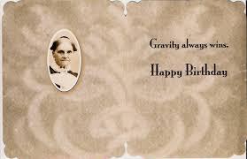 scrapbook birthday card gravity always wins home page