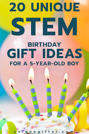 20 stem birthday gift ideas for a 5 year boy unique gifter