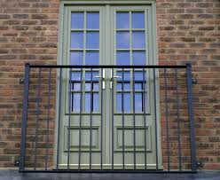 exteriors amusing black iron metal balcony railing fence double