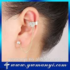 gold ear cuffs export trade fashion jewellery gold ear tops designs ear cuffs