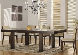 Modern Wood Dining Room Table Warm And Cozy Modern Dining Table The The