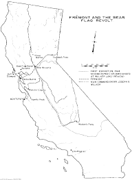 Map Of California And Oregon by The Mexican War And California The Bear Flag Revolt And The Anglo