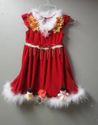 girls d fun tacky ugly christmas sweater party dress with light up