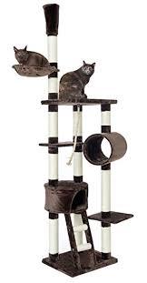 kratzbaum große liegefläche opixeno luxus kratzbaum für große und schwere katzenrassen