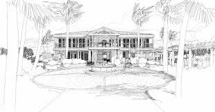 mcm design island house plan 10
