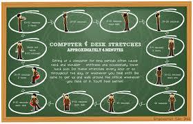 Computer Desk Stretches Ewsb Ergo Info