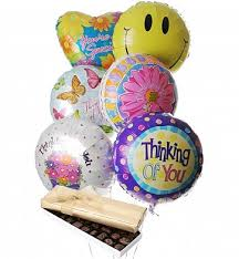 balloon delivery spokane wa thinking of you balloon bouquets by gifttree