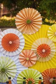 paper fans for weddings diy construction paper fan for birthday n weddings
