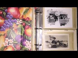 Photo Albums For Sale Old Airplane Photo Album For Sale Youtube