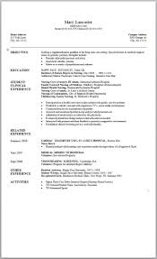 Sample Of Resume In Canada by Cool Cv Best Free Resume Collection