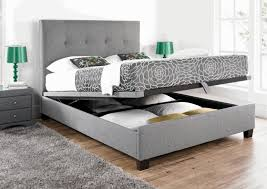 storage solutions for a small bedroom plain white ceiling grey