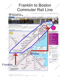 Mbta Train Map by How The Commuter Rail Helps Franklin Ma Franklin Ma
