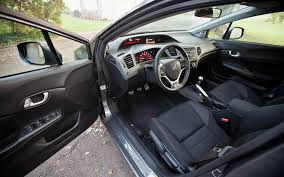 Honda Civic 1993 Interior 2012 Honda Civic Si Sedan Hpt Editors U0027 Notebook Automobile